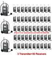 2016 Новый Горячий Гид учение Takstar WTG-500 УВЧ Беспроводной аудио система для Туристического гида/Преподавание 3 Передатчик + 50 Приемники