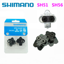 Shimano SPD SM SH51 SH56 Stollen MTB велосипед релиз мульти-релиз педали Stollen w/Cleat Mutter Platten Float berg Paar CLEAT set
