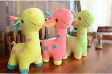 about 35cm cartoon giraffe plush toy lovely giraffe soft doll baby toy birthday gift,Xmas gift c821