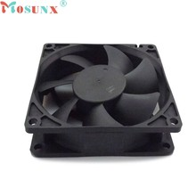 2017 mosunx NEW 8cmx8cmx2.5cm New 3Pin 12V Computer PC CPU Silent 8025 Cooling Case Fan wholesale Oct20(China)