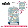 Dispalang Cartoon Animal Print Portable Elastic Travel Luggage Protective Covers For Suitcase Case Cat Womens Travel Accessories