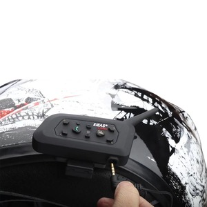 Image 5 - EJEAS V6 PRO Bluetooth Motorcycle BT Communicator Helmet Intercom Headset with 1200m Interphone for 6 Riders