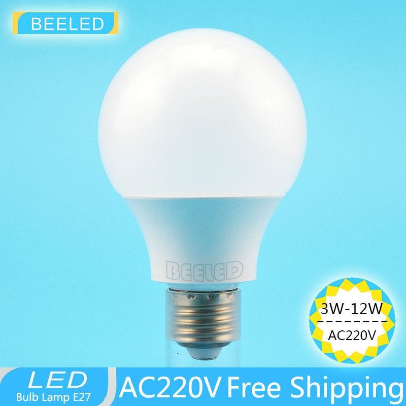 Led Bulb E27 Bulb Lamp 220V Led Lamp E27 12w 9w 7w 5w 3w Smd2835  White Warm White Energy Saving Light Led Spot Home Light