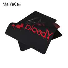 MaiYaCa Bloody Cool Computer and Laptop Mouse Pad Gaming Mice Mat Pad 18*22cm and 25*29cm