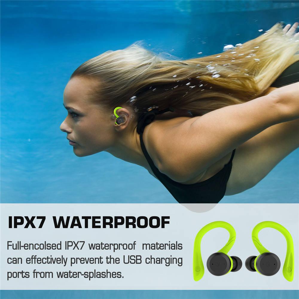 Dual Bluetooth Headset with Ear-hook  4
