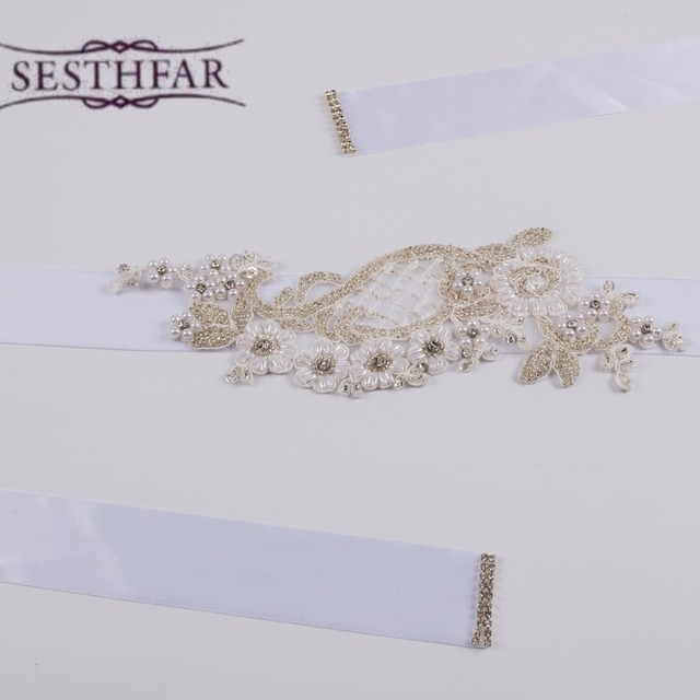Artificial High Quality Luxurious Exquisite Woman Bridal Sash with Crystal Rhinestone Formal Wedding Gown Belts Accessories