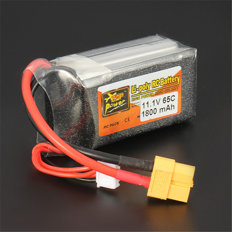 In Stock Rechargeable Lipo font b Battery b font ZOP Power 11 1V 1800mAh 65C 3S