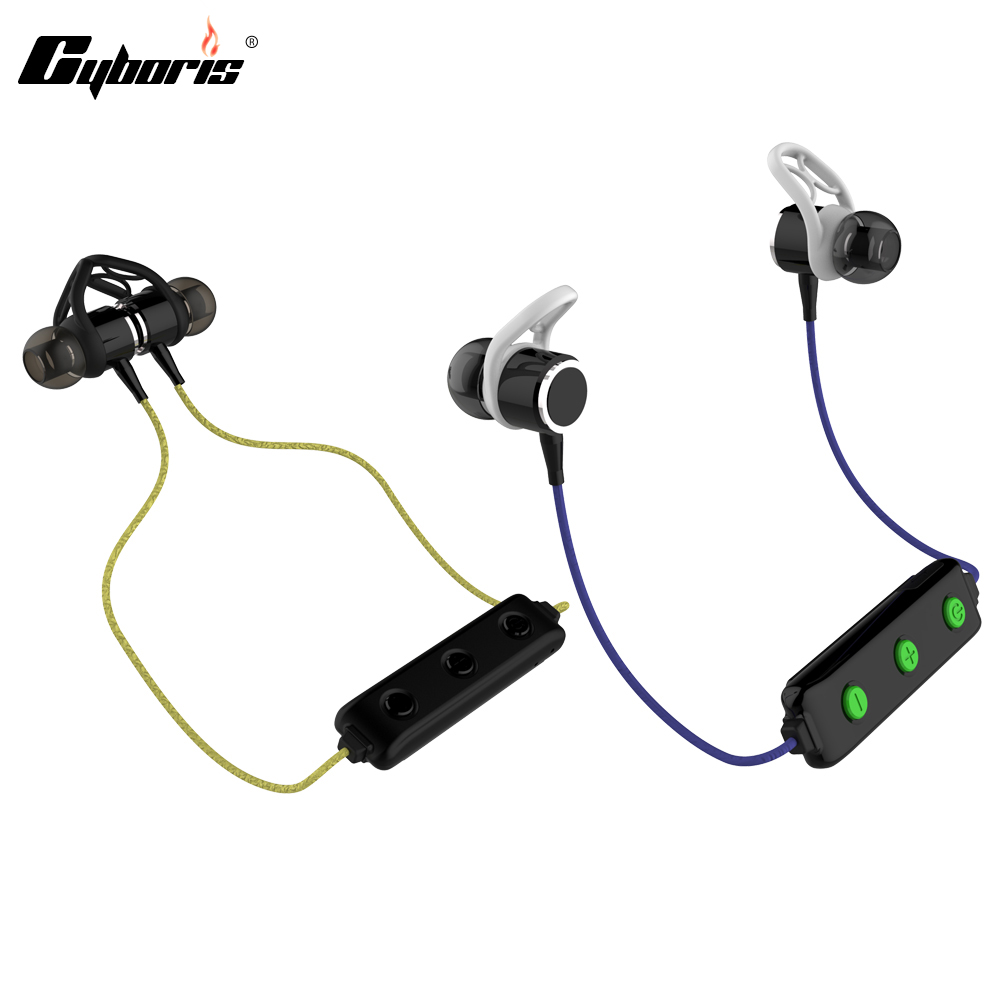 Cyboris Sport 4.0 Bluetooth-Kopfhörer Sweatproof Stereo-Ohrhörer - Tragbares Audio und Video