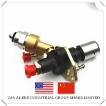 186F186FA электромагнитный клапан дизельный генератор топливный насос с воздушным охлаждением одноцилиндровый почвофреза с дизельным двигателем 186