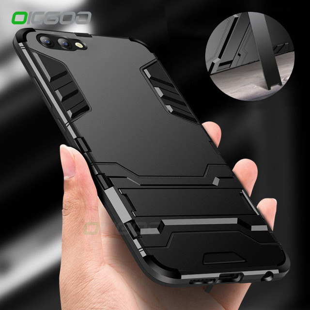 OICGOO Shockproof Armor Phone Case For Huawei P10 Plus P9 Lite 2017 Matte Protective Cover For Huawei Honor 9 10 Lite Case Shell