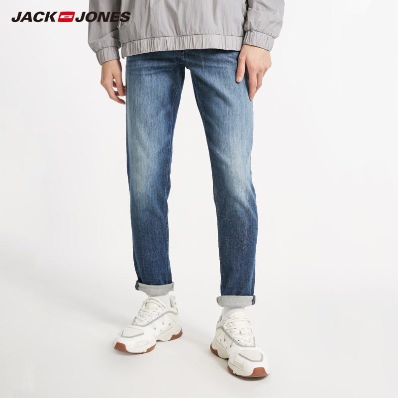 JackJones Men's Stretch Slim Jeans Classic Casual  Jeans Menswear 218432526
