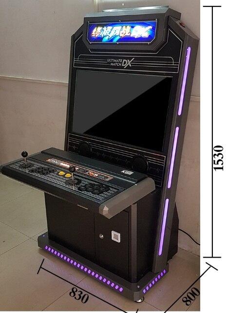 Двойной боевой игровой автомат шкаф аркадная игровая машина игровая консоль с 32 дюймовым экраном