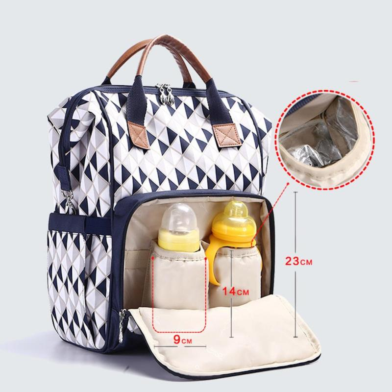 Maternity diaper bag backpack baby stroller Nappy Bag Large Capacity Baby Care Bags Travel Backpack Designer Nursing Bag R4