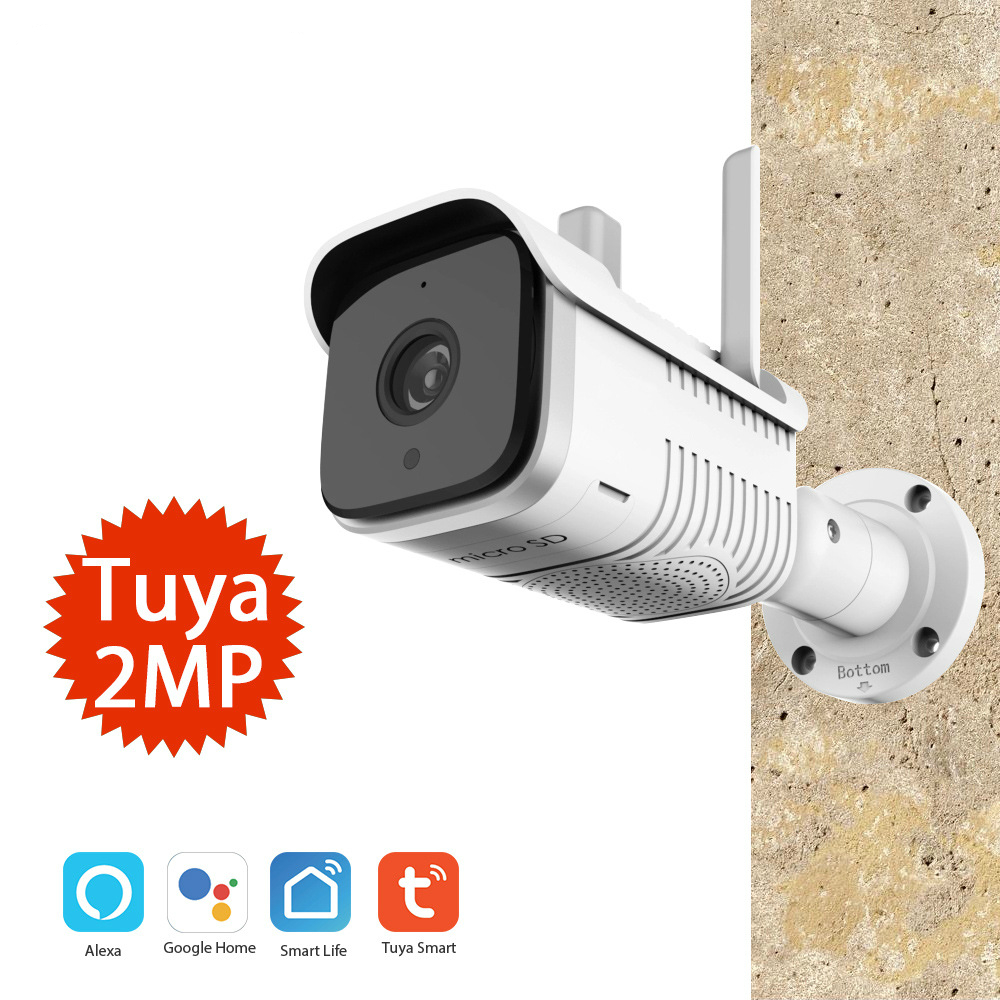Graffiti Intelligent Wireless Network Outdoor Waterproof Gun Machine Camera Tuya Wifi