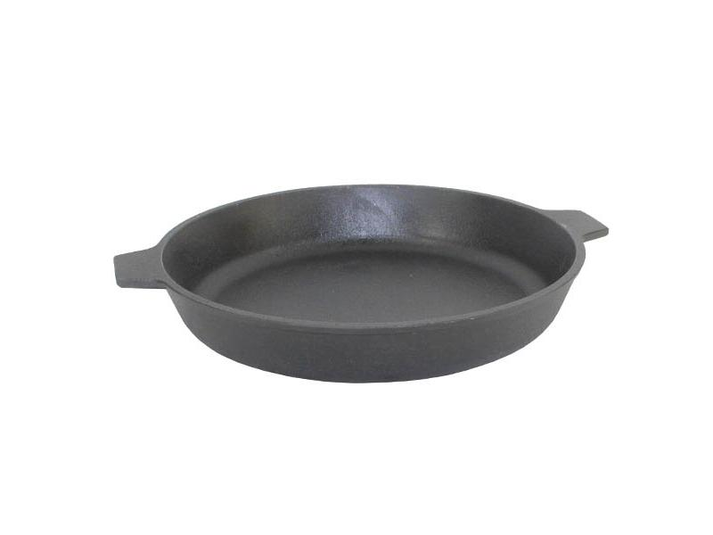 Frying Pan Камская tableware, 26 cm, with two ears frying pan нева metal tableware cast scandinavia grey 26 cm