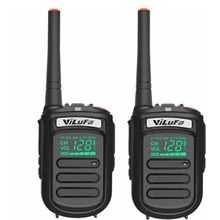 2pcs T-200 UHF ham radio YiLuFa two way radio equipment 400-470mHz Ham Radio Mini Walkie-talkie
