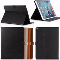 Biznes styl Crazy Horse PU Leather skrzynki Pokrywa Dla Apple iPad Pro 12.9 cal z czytnikiem kart Tablet Akcesoria S4A59D