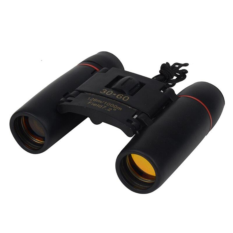 30x60 Zoom Camping Hunting Day Night Vision Binoculars Travel Telescope 126m-1000m Folding Bag