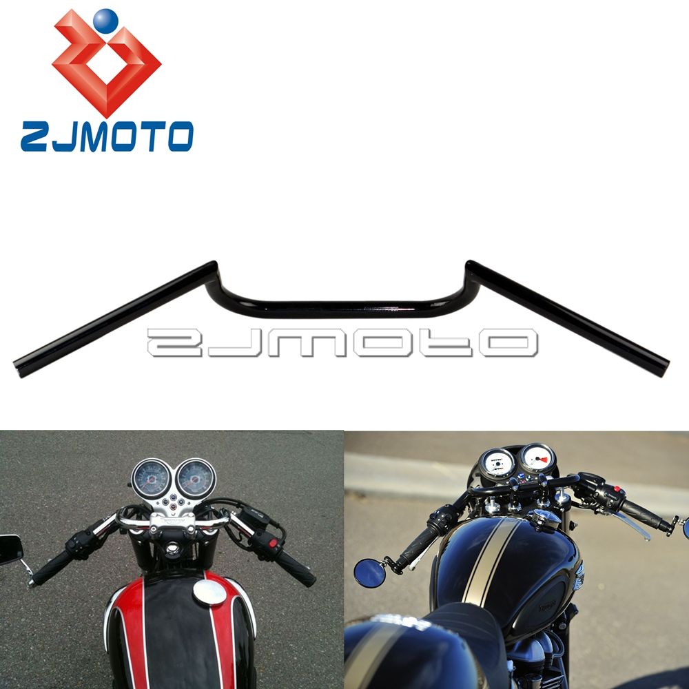 "aliexpress : buy zjmoto supermoto motorcycle black 7/8"" cafe"