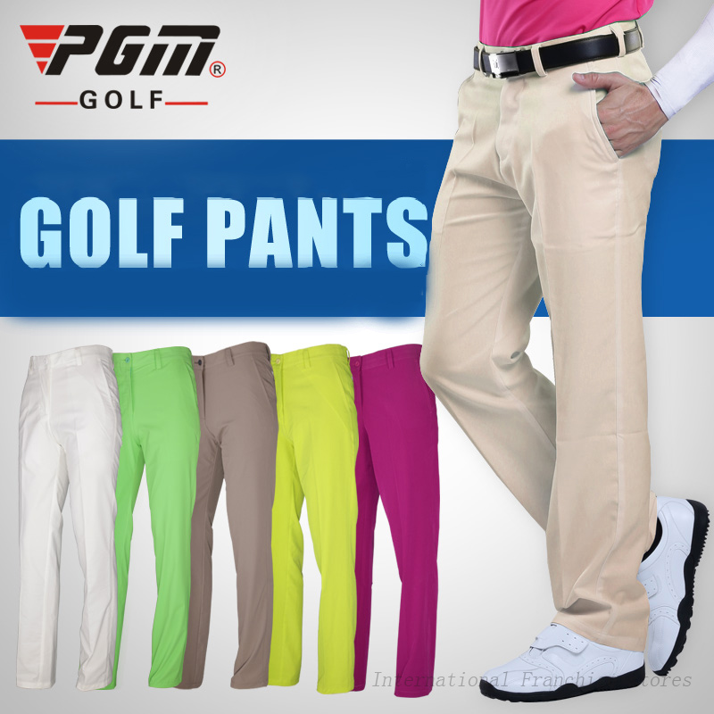 Ultra-mince Hommes Vêtements Pantalons Mince Vêtements Imperméables Sports Golf / Tennis Pantalons Mâle Plus La Taille XXS-XXXL Summer Dry Fit Pantalons