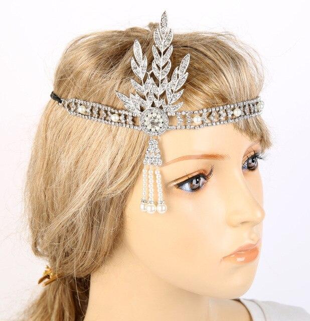 Great Gatsby Stil Perle Quasten Stirnbander Frauen Grosshandel In