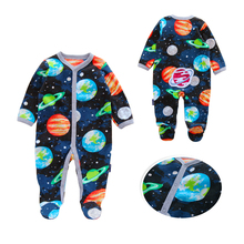 Baby Winter Jumpsuits with velet New-born Bebes 6-12 Months Boys Girls Clothing Set Fleece Hooded Long Sleeve Rompers