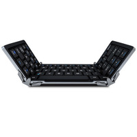 2016 Folding Bluetooth Wireless Keyboard For PC For IOS Andriod Windows Tablet Laptop For Travel With