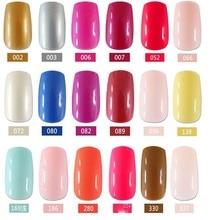 24pcs Hot sell fashion Long section Square head candy false nails decoration
