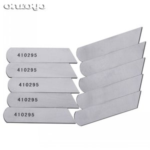 10PCS Lower Knife Bernette Serger Overlock for JUKI MO-613 MO-634 644 655 others #410295 STRONG H(China)