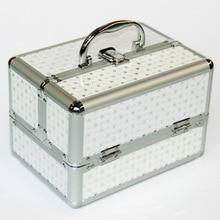 Новый Хранение Косметики коробка милые косметические ювелирные украшения для макияжа коробка Женский органайзер для хранения путешествия Коробки сумка чемодан