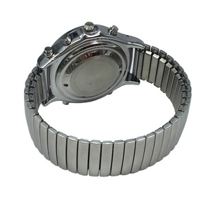 Image 5 - Spanish Talking and Tactile Watch for Blind People or Visually Impaired People, White Dial, Black Number