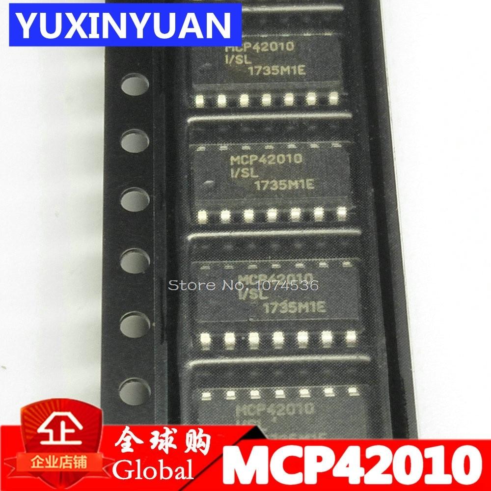 MCP42010-I/SL MCP42010 42010 SOP14 Single/Dual Digital Potentiometer with SPI Interface 1pcsMCP42010-I/SL MCP42010 42010 SOP14 Single/Dual Digital Potentiometer with SPI Interface 1pcs