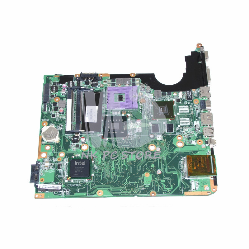 NOKOTION 511864-001 DA0UT3MB8D0 Main Board For HP Pavilion DV6 DV6-1000 Laptop motherboard PM45 DDR2 GeForce GPU Free CPU nokotion laptop motherboard for hp pavilion dv3 intel pm45 ddr2 with nvdia graphics kjw10 la 4735p 576795 001