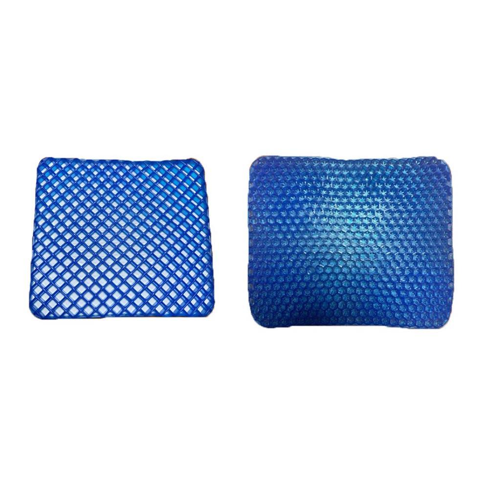 Large Size Elastic Gel Cushion,Gel Egg Cushion Gel Sit Cushion Honeycomb Car Sofa Cushion Cervical Health Care Pain Pad