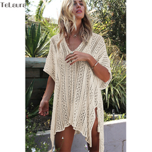 Crochet Knitted Bikini Cover Up