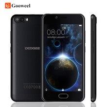 """Doogee стрелять 2 смартфон 5.0 """"hd android 7.0 mt6580 quad core dual задняя 5mp + 5mp + 5-мп камерой 3000 мАч отпечатков пальцев мобильный телефон"""