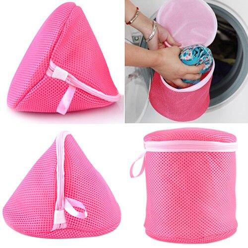 NEW Underwear Aid Bra Laundry Mesh Wash Basket Net Washing Storage Zipper Bag Underwear Organizer Washing Bag