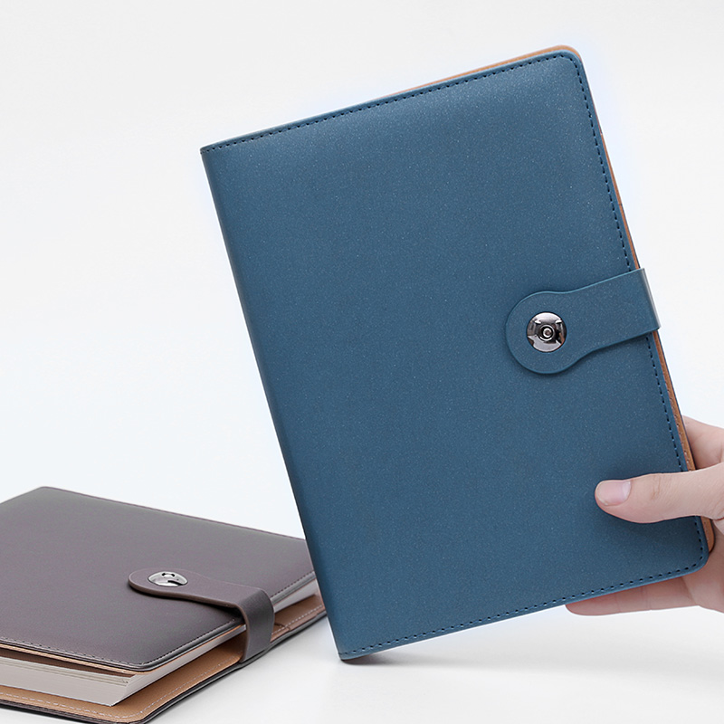 RuiZe office stationery leather spiral notebook hard cover A5 notebook daily planner note book can be refilled все цены