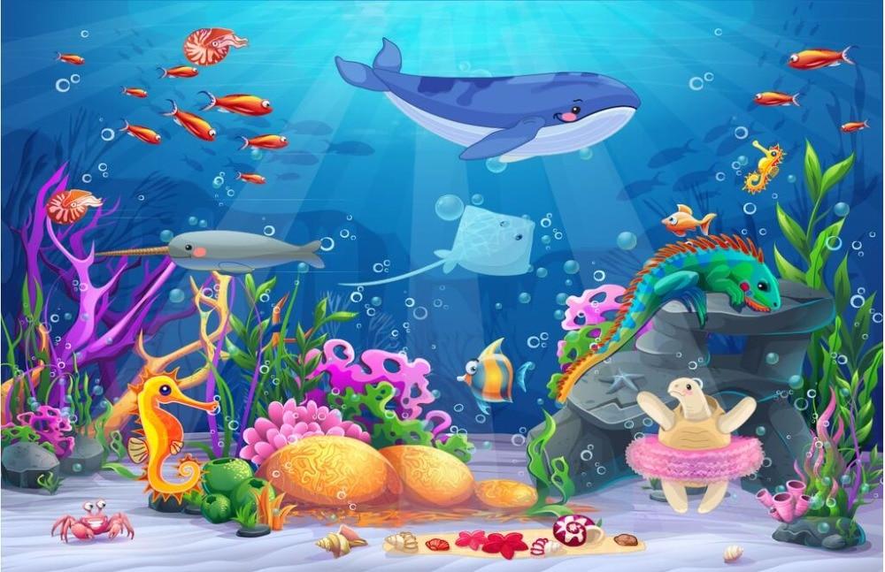 930 Lukisan Gambar Hewan Laut HD Terbaik