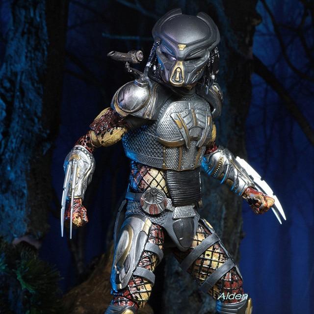 """NECA 7 """"O Predador Predador 2018 Filme Fugitivo Brian um. príncipe PVC Action Figure Collectible Modelo Toy BOX 18 CM L388"""