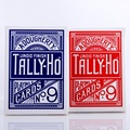 1pcs Original Tally-Ho No.9 Deck Magic Card Fan Or Round Back Playing Cards Poker Stage Magic Tricks for Professional Magician