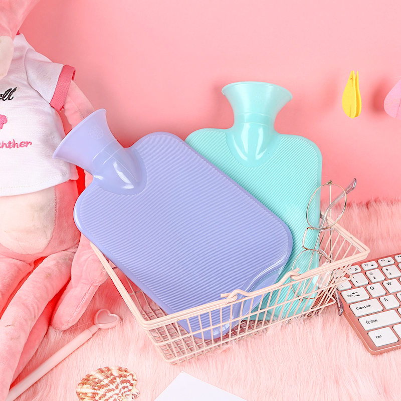 050 Hot Water Bottle  PVC Bag Hand Warming Bottles Winter Bags 25*8cm