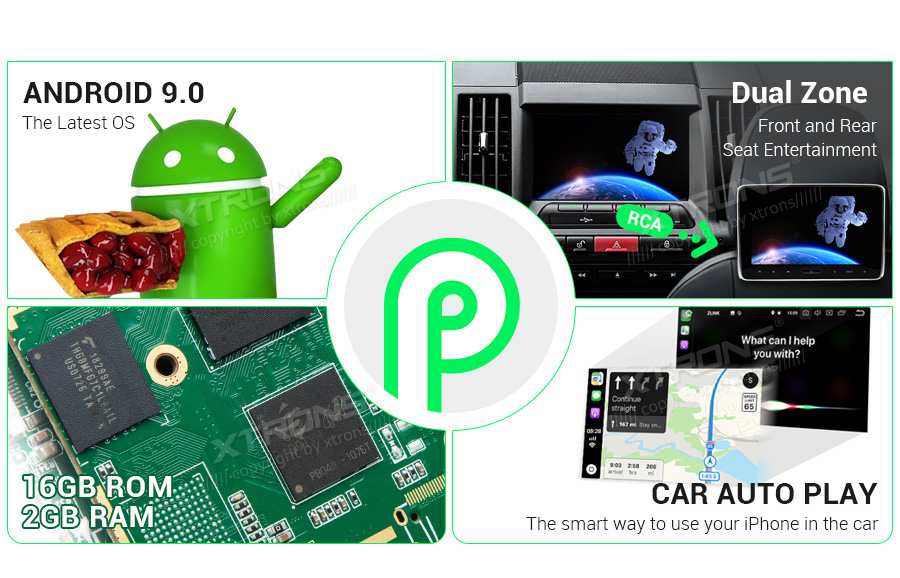 "Excellent 7"" Android 9.0  Car Multimedia Navigation GPS radio for Land Rover Freelander 2 2006 2007 2008 2009 2010 2012 2013 2014 (L359) 1"