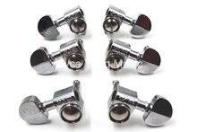 Гитара для тюнинга Groover Style, серебристая полукруглая головка, 3л + 3R, бесплатная доставка, оптовая продажа