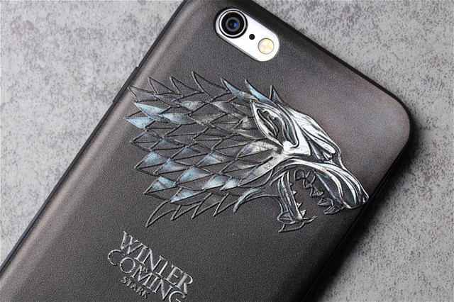 Game of Thrones Wolf Sea Monster Silicone Ultra thin Case Cover for IPhones