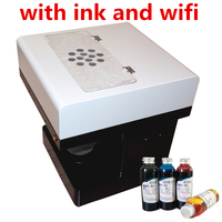 Free Ink Edible Art Coffee Drinks Printer 2 Pcs Food Chocolate Printer With Customs Own Logos