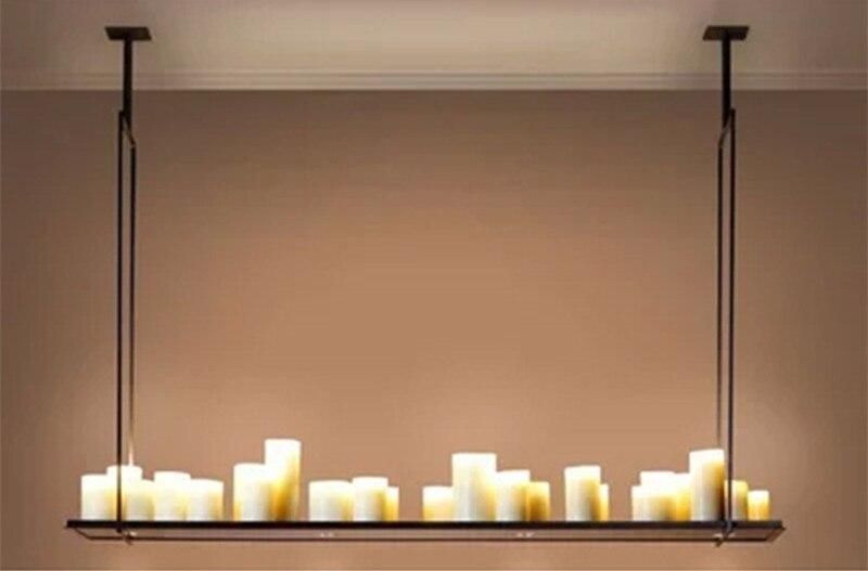 Реплика Кевина Рейли алтарь подвесной светильник Светодиодный Люстра винтажный светильник Ретро металлический светильник с пультом дистанционного управления подвесной светильник - 2