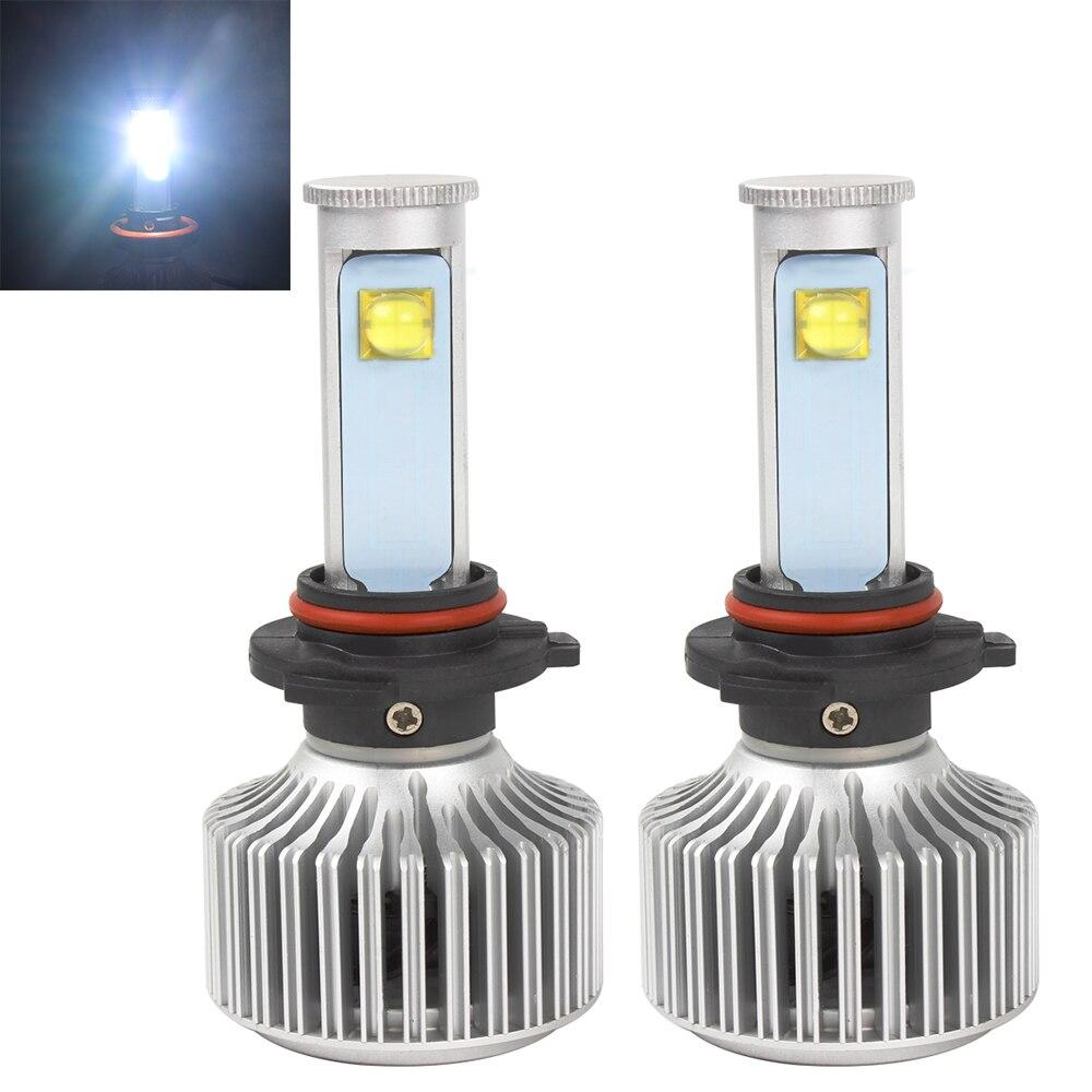 40W/Each Bulb 6000K 3600LM 9006 All-in-one Version of X7 LED Headlight Light Source Car Styling40W/Each Bulb 6000K 3600LM 9006 All-in-one Version of X7 LED Headlight Light Source Car Styling