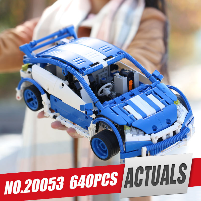 Lepin 20053B Genuine Technic Series The Hatchback Type R Set MOC-6604 Building Blocks Bricks Educational Toy as NEW YEAR gifts lepin 20053