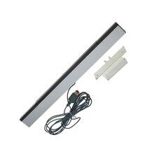 유선 적외선 센서 바 Nintend Wii IR 신호 수신기 웨이브 센서 바 무선 원격 컨트롤러 게임 콘솔